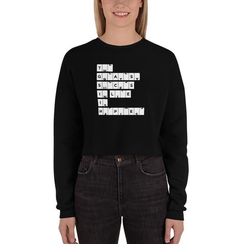 The Greatest Success In Life… | Crop Sweatshirt