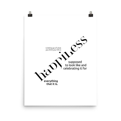 Happiness Is... | Digital Poster Download
