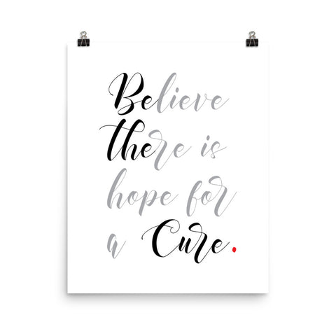 Be The Cure | Fine Art Print