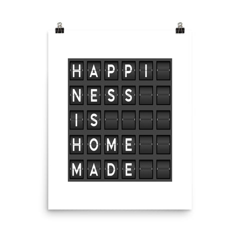 Happiness Is Homemade | Digital Poster Download