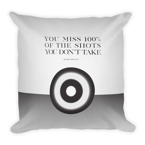 You Miss 100% Of The Shots... | Throw Pillow