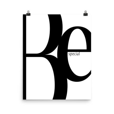 Be Special | Digital Poster Download