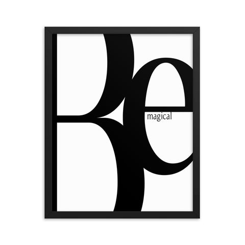 Be Magical | Framed Fine Art Print