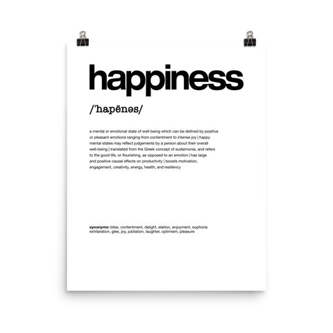 Nitty Gritty Happiness | Digital Poster Download