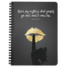 Never Say Anything About... | Spiralbound Notebook [Glam Edition]