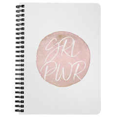 GRL PWR | Spiralbound Notebook