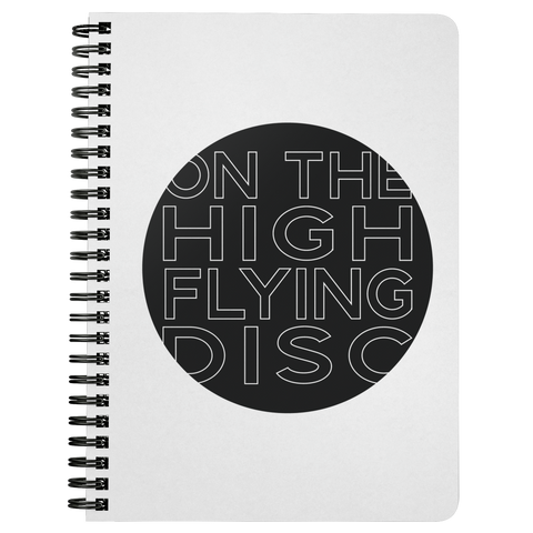 On The High Flying Disc | Spiralbound Notebook