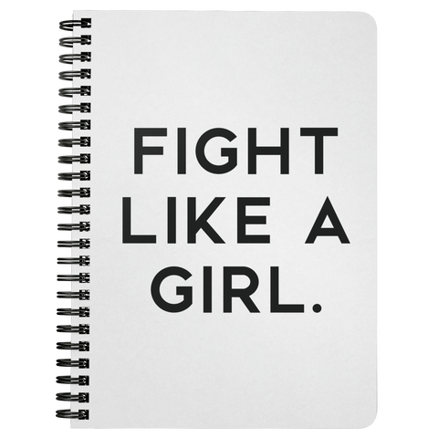 Fight Like A Girl | Spiralbound Notebook