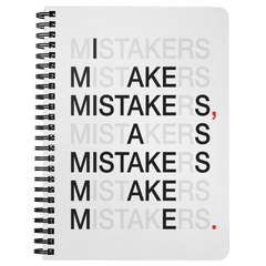 I Make Mistakes As... | Spiralbound Notebook