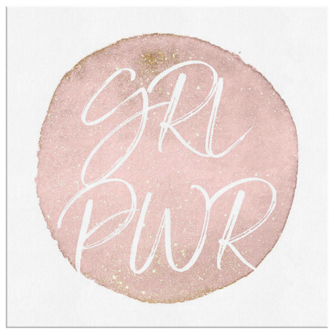 GRL PWR | Canvas [Square] Glam Edition