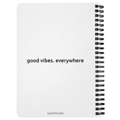 I Choose To Be Happy | Spiralbound Notebook