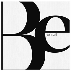 Be Yourself | Canvas [Square]