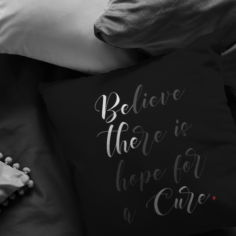 Be The Cure | Pillow [Black Edition]