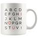 I Love You Alphabet | Mug 11oz
