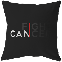 I Can Fight Cancer | Pillow [Black Edition]
