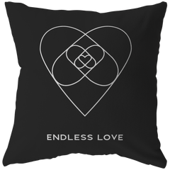 Endless Love | Pillow [Black Edition]