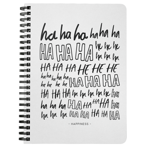 Ha Ha Ha... | Spiralbound Notebook