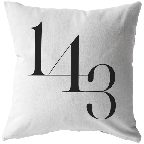 1 4 3 I Love You | Pillow