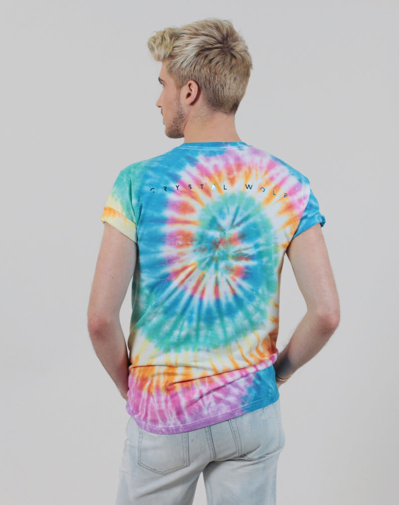 Crystal Wolf Rainbow Quartz Tee