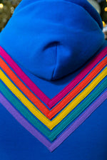 The Rainbow Blue Hoodie