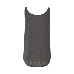 Crystal Wolf Smokey Quartz Tank Top