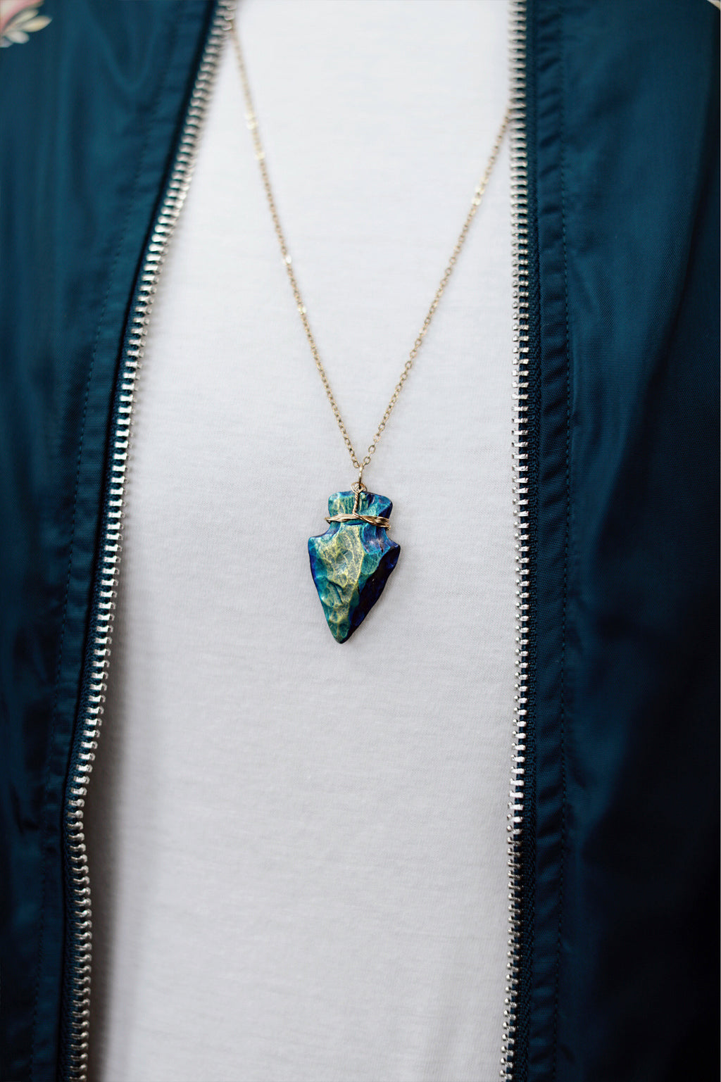 The Rebel Arrowhead Necklace