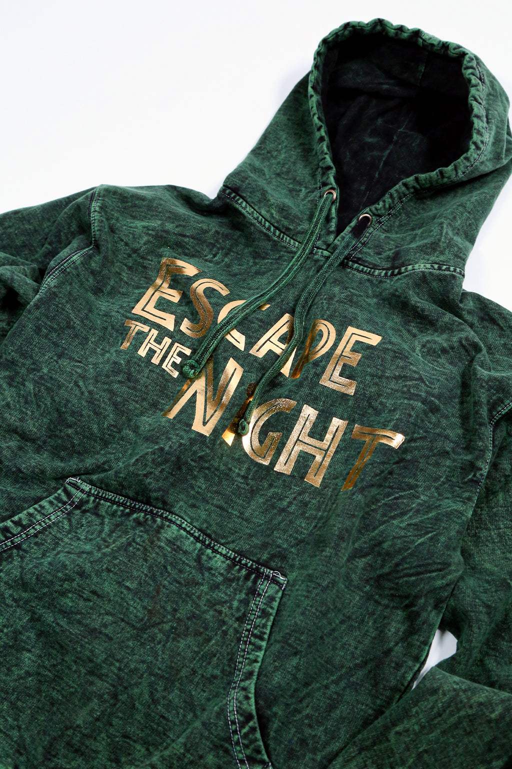 Official Escape The Night Hoodie in Jungle Green (Limited Edition)