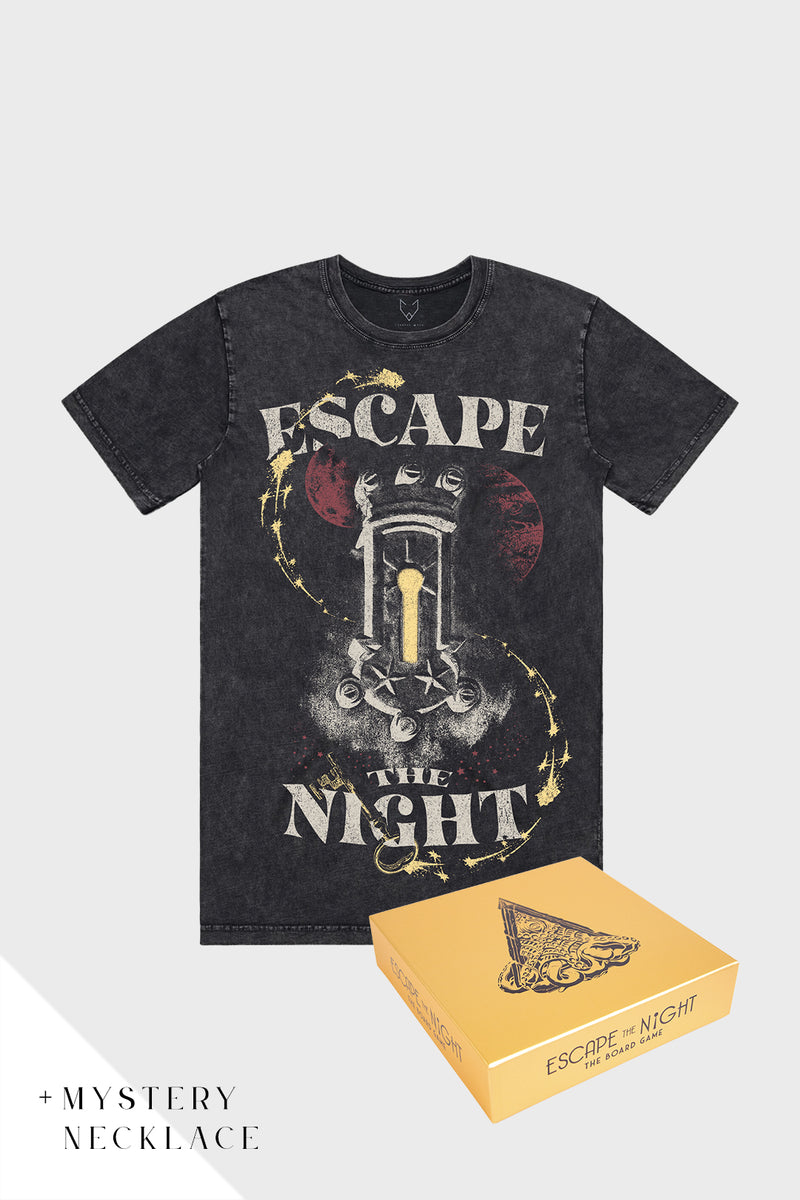 Escape The Night Tee x Board Game Bundle