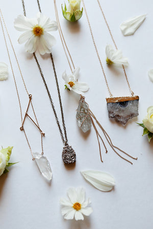 Crystal Wolf Necklace Bundle