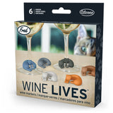 'Wine Lives' Drink Markers