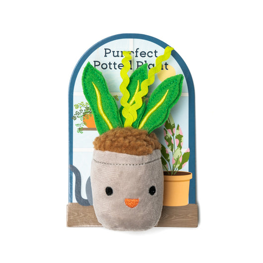 Purrfect Potted Plant