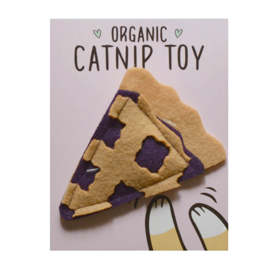 Catnip Blueberry Pie