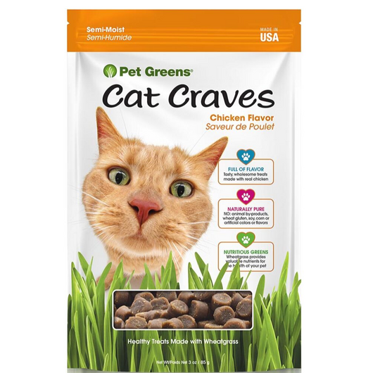 Pet Greens Cat Craves Chicken Treats