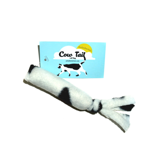 Polydactyl Cats Cow Tail Toy