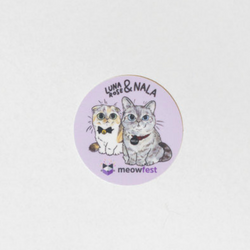meowfest Nala & Luna Rose Sticker