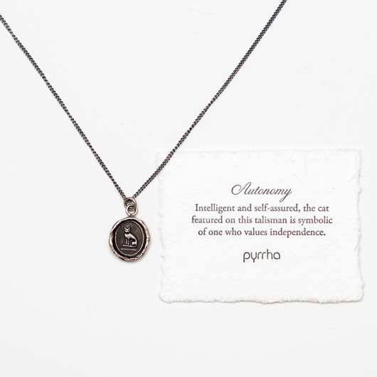 Pyrrha Handcrafted Talisman Necklace