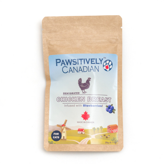 Pawsitively Canadian Chicken & Blueberry Treats