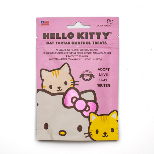 Hello Kitty Tartar Control Treats
