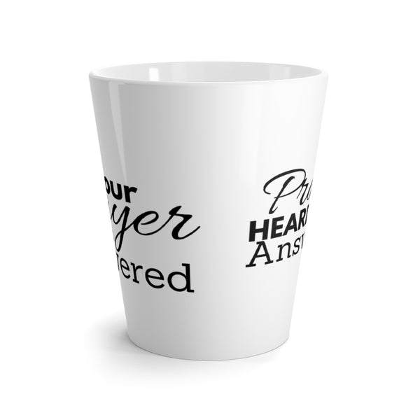10,000 Prayer Infused Latte Mug