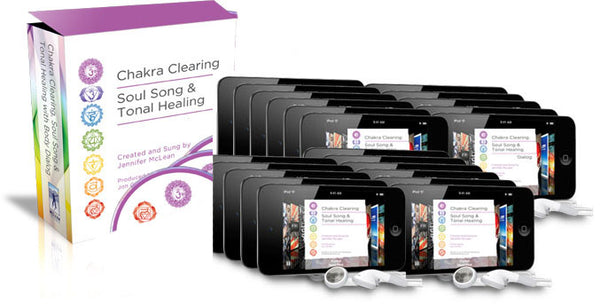 22 Tracks of Sound Vibration Acoustical Healing Chakra Clearing & Balancing (Digital Downloads)