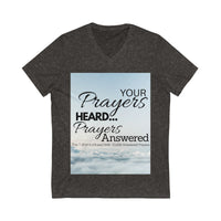 "10,000 Prayer Encoded T-Shirt ""Prayer Heard""  (This special prayer energy encoded wearable Tee increases the frequency of your prayer intention into fulfillment AND triggers those who look at it too.)"