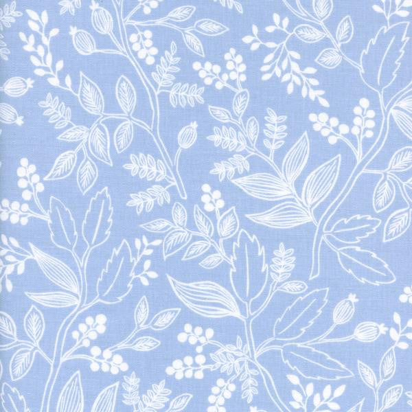 Queen Anne-Pale Blue,Rifle Paper Co,Cotton+Steel