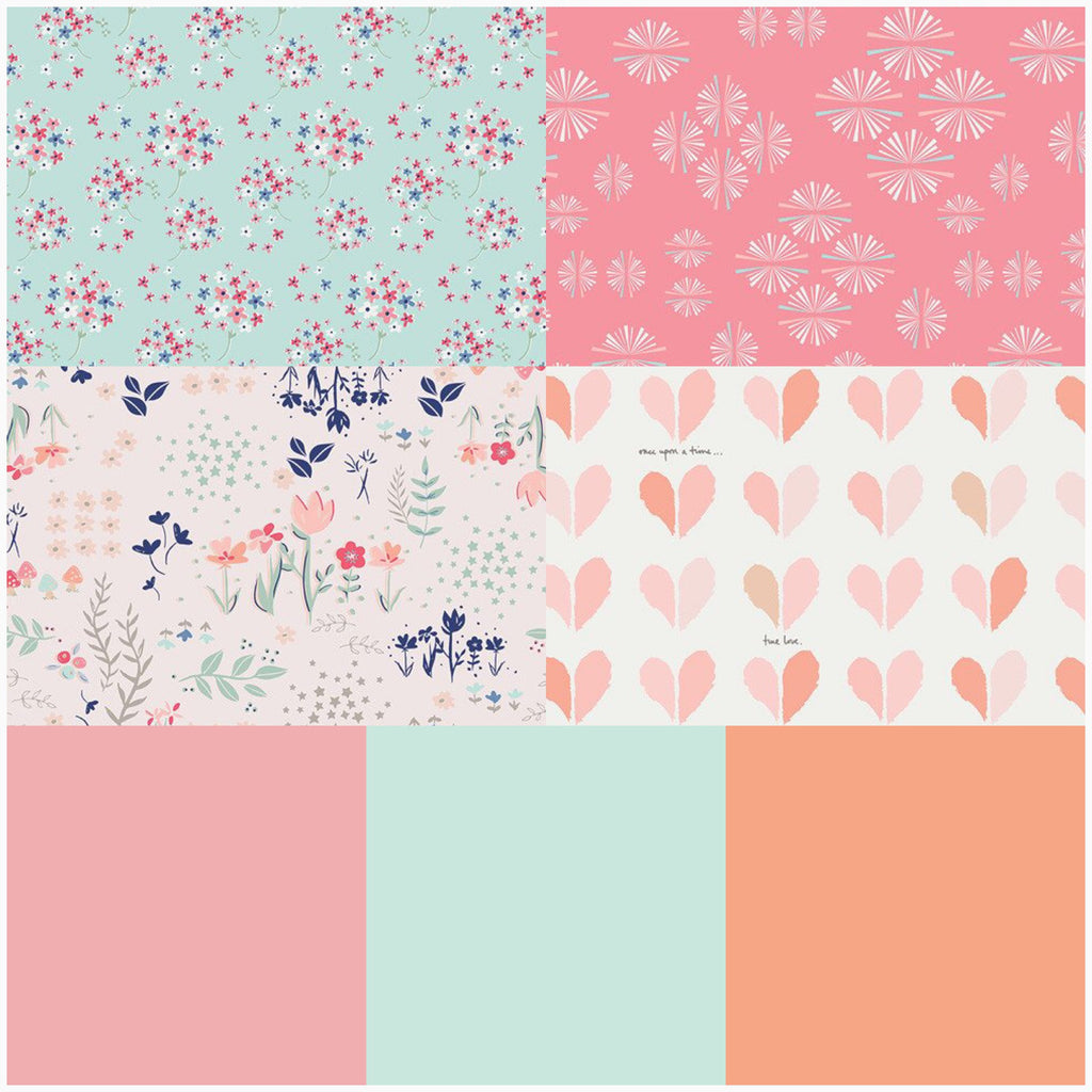 Hearts and Blooms - FQ Bundle