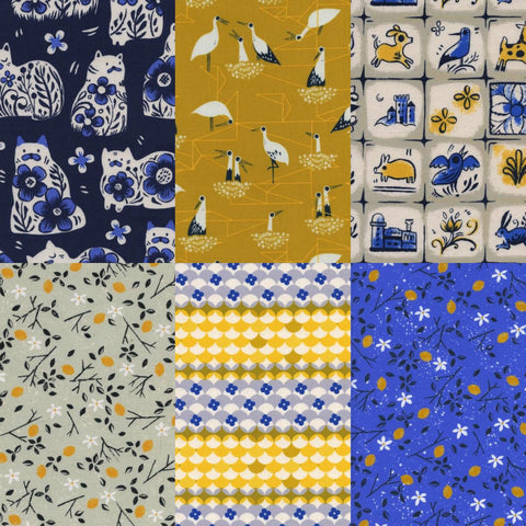 Porto and Gumdrops- 1/2 Yard Bundle