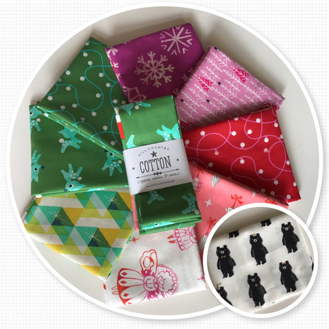 GARLAND - 1/2 Yard Bundle PLUS Bonus