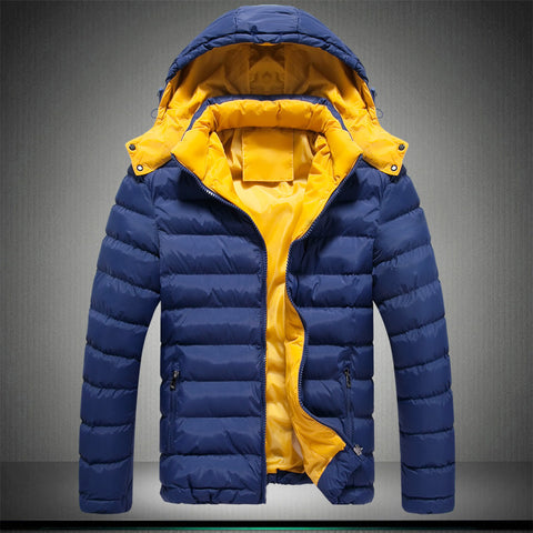 men winter jackets 2016  new Men's Clothing Coats&Jackets Down & Parkas winter thickening male with a hood wadded warm jacket