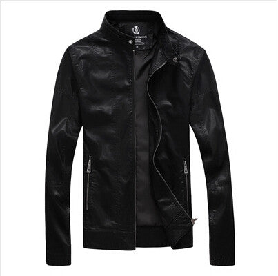 Man Leather Jackets 2016 ,motorcycle jacket men made Leather Jaquetas Masculinas Inverno Couro Jacket Men