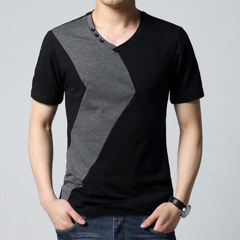 10 Designs Mens T Shirt Slim Fit Crew Neck T-shirt Men Short Sleeve Shirt Casual tshirt