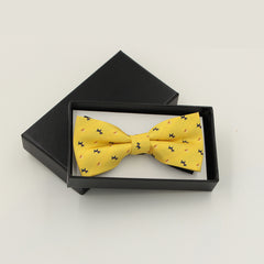 1 Piece Fashion Brand Bow Ties For Men Wedding Polyester butterfly Striped Dots Plaid Bowtie 12colors
