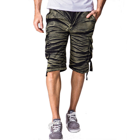 2016 Brand new men's shorts camouflage mens shorts cotton casual